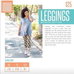 LuLaRoe Pants - OS leggings-1/$15 or 3/$35